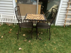 #137863 TABLE AND CHAIR 2