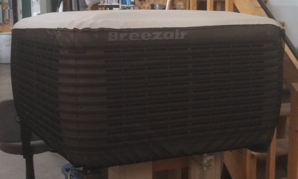 Mesh Swamp Cooler Cover Prevents Unit From Clogging A